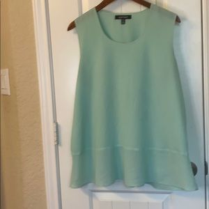 Ellen Tracy Mint Blouse XL